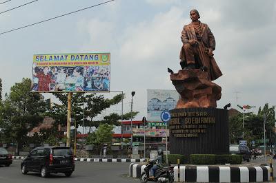 Patung Panglima Besar Jenderal Soedirman Purbalingga