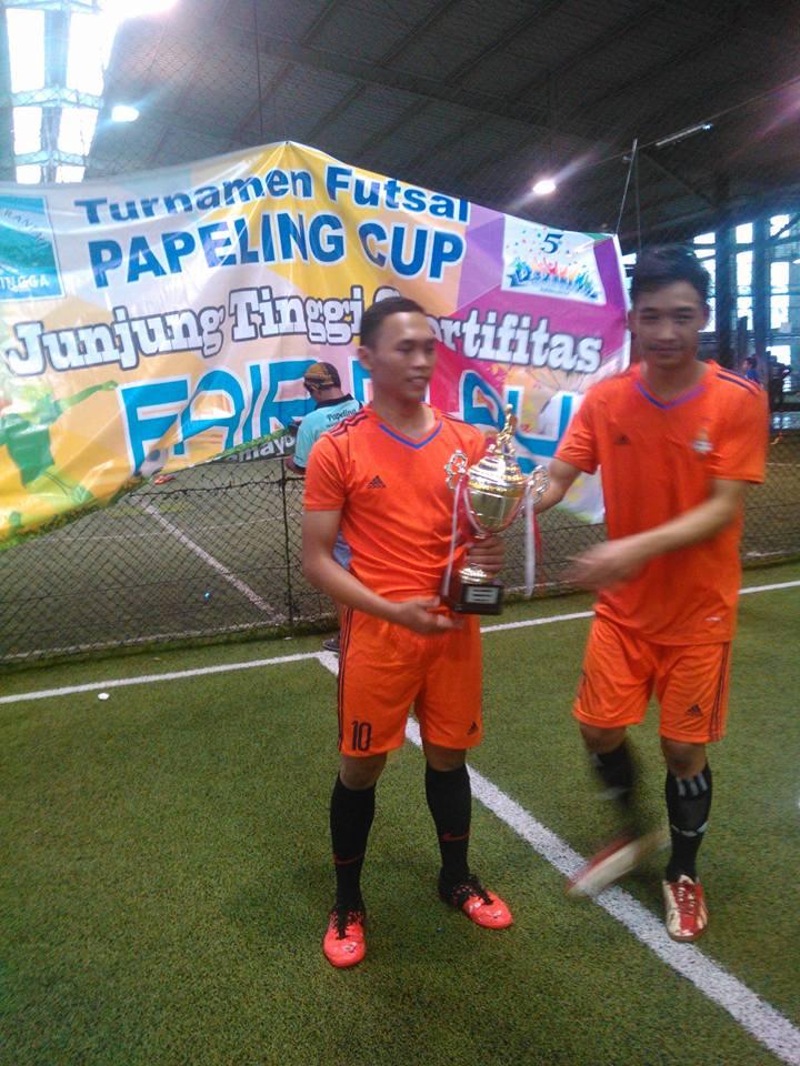 papeling korwil jakpus juara papeling futsal cup 2015
